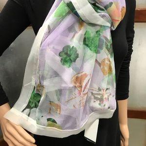 Cejon Accessories - Cejon Summer Splash Over sized Scarf  Lilac